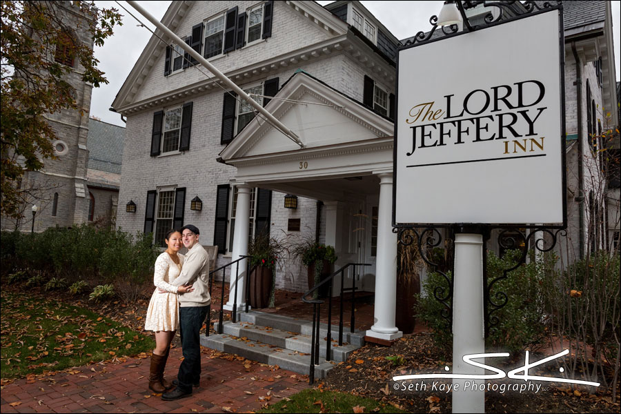Amherst Lord Jeffery Inn Engagement Session