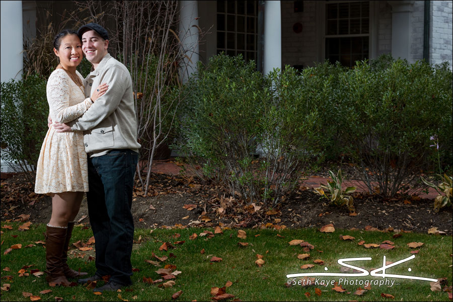 Engagement Session Amherst Lord Jeffery Inn