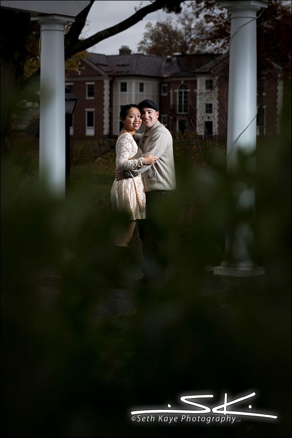 Engagement Session Lord Jeffery Inn Amherst