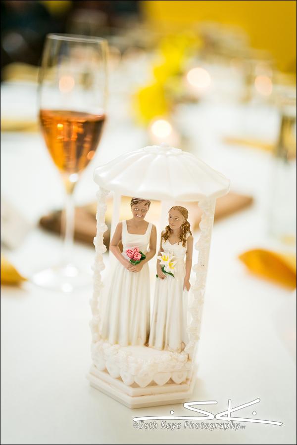 gay wedding detail