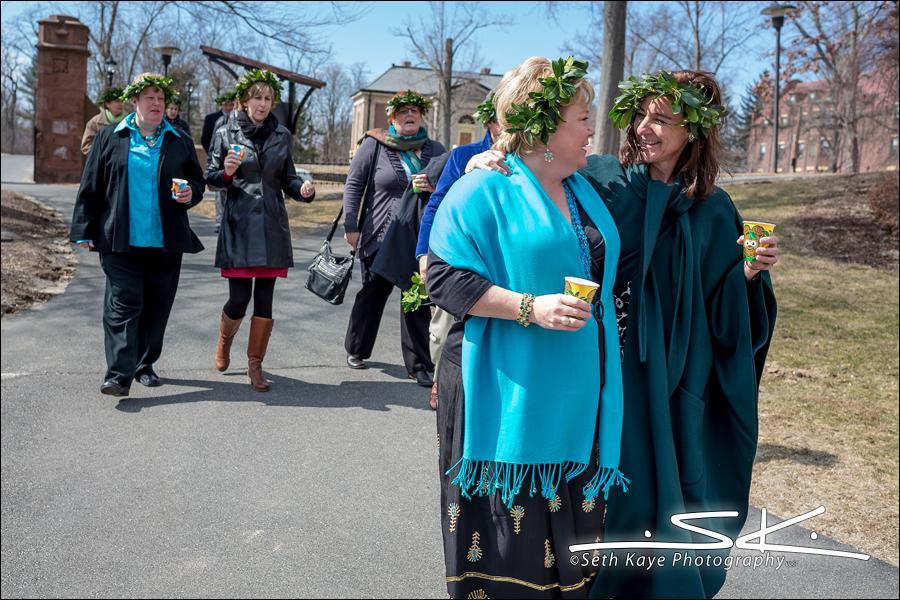 Mount Holyoke College Wedding