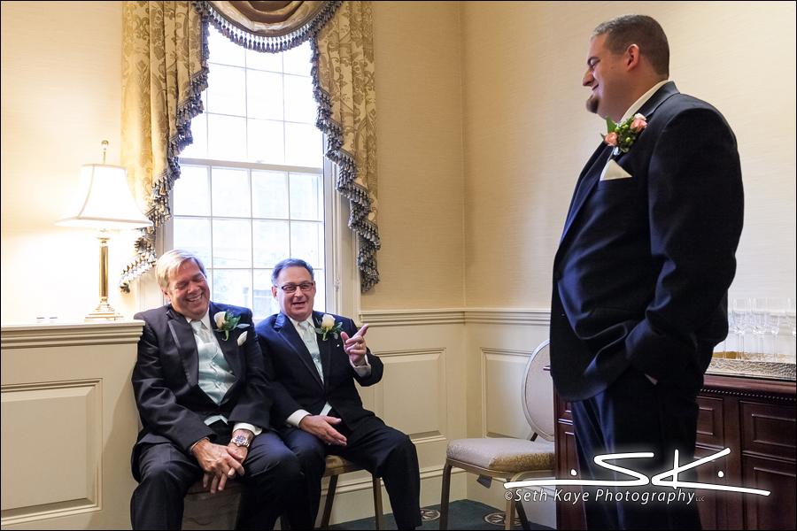 groom, dad, grandfather