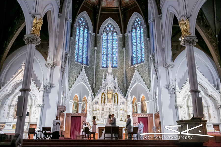 Boston Cathedral Wedding