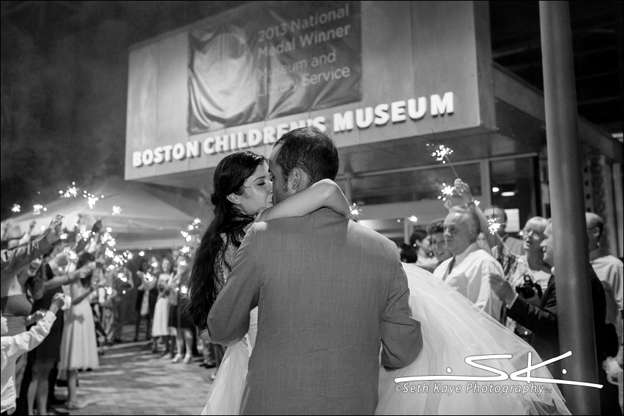 Boston Children's Museum wedding