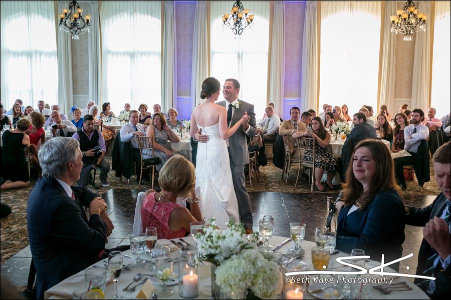 Cranwell wedding reception