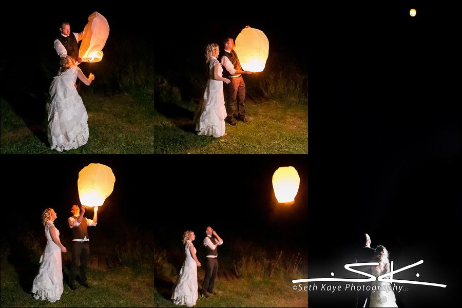paper lantern wedding