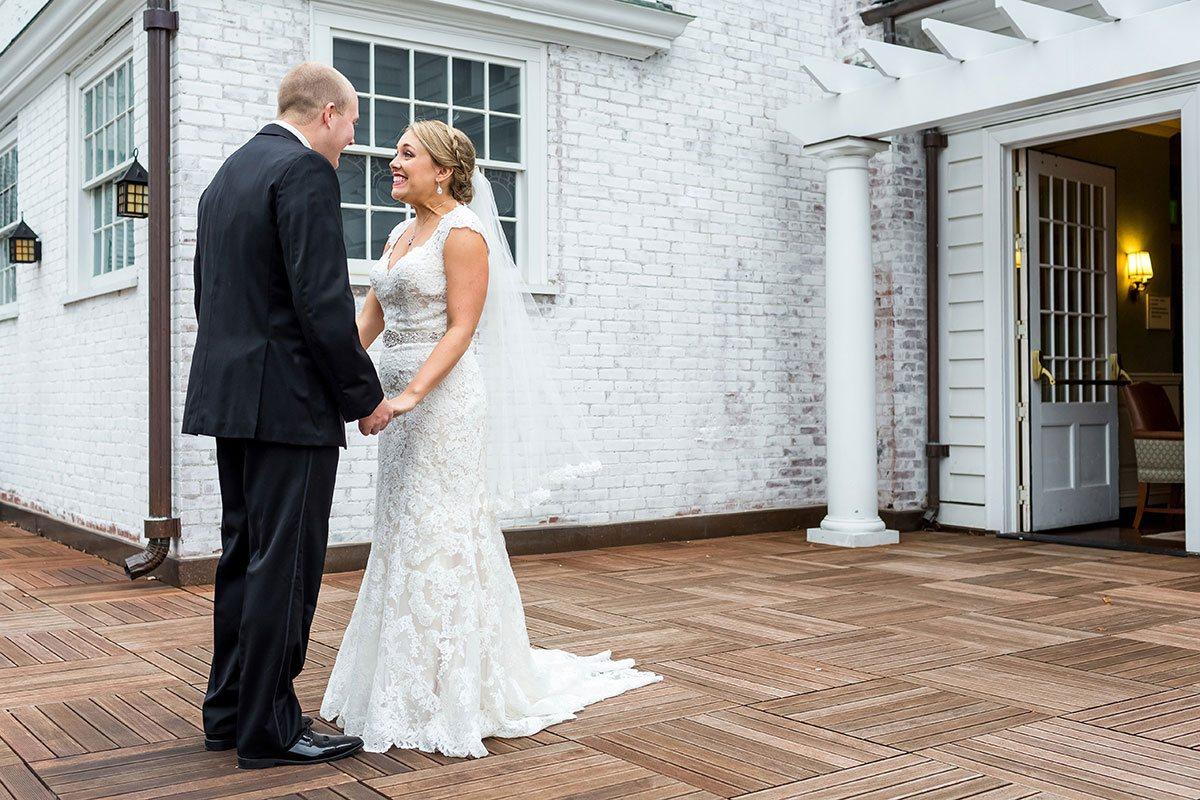Seth Kaye Wedding First Look