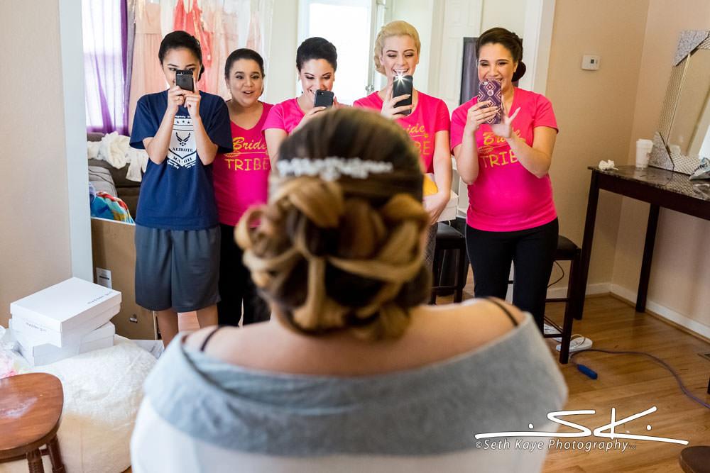 bridal makeup reveal