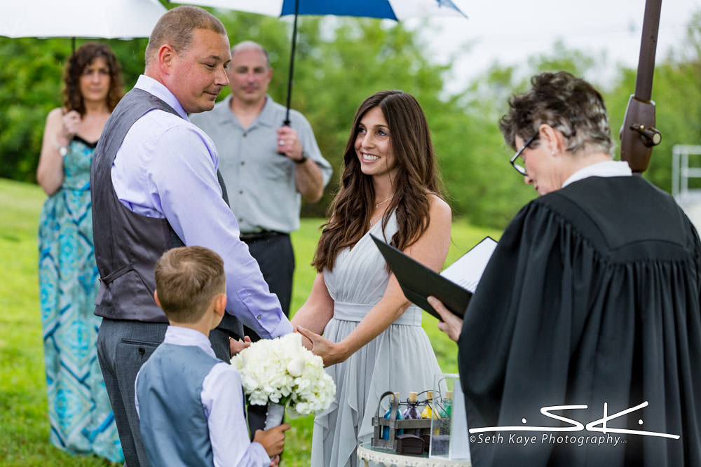 Quabbin wedding ceremony