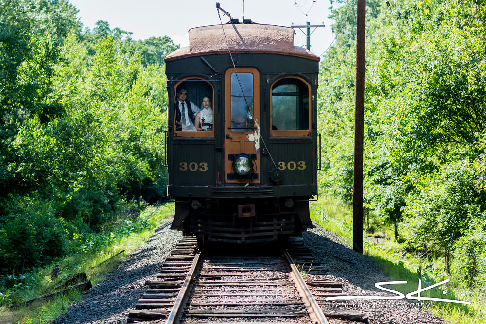 CT Trolley Museum Wedding