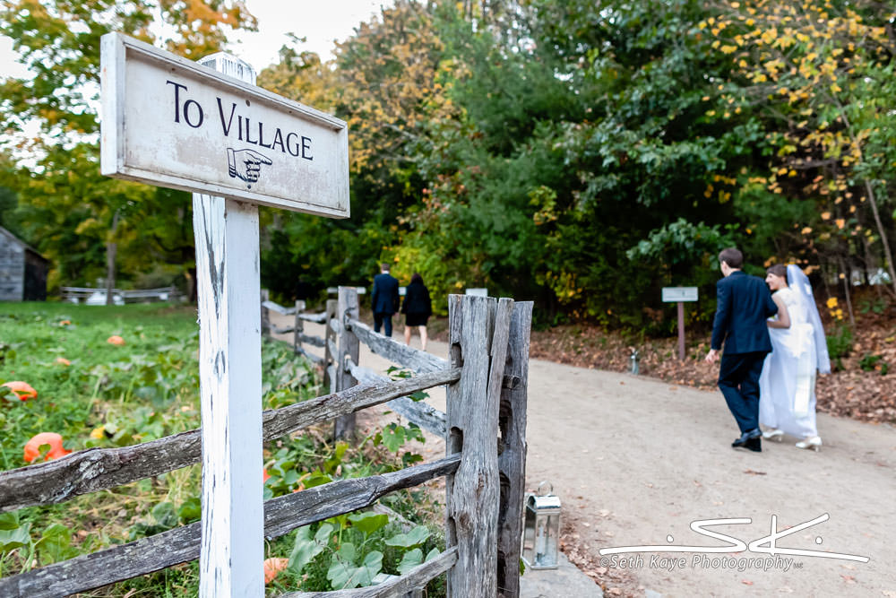 Old Sturbridge Village Wedding