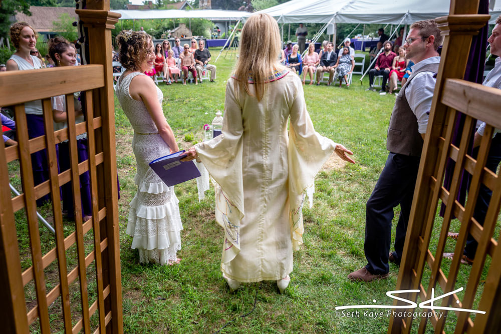 Western Mass Backyard Wedding
