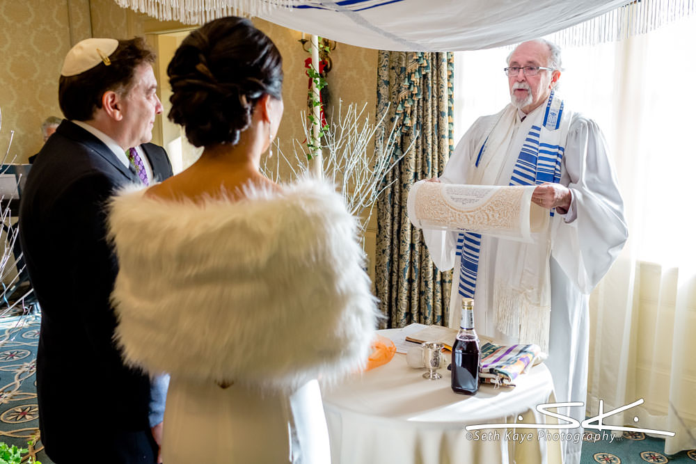 Jewish Wedding at the Lord Jeffery Inn