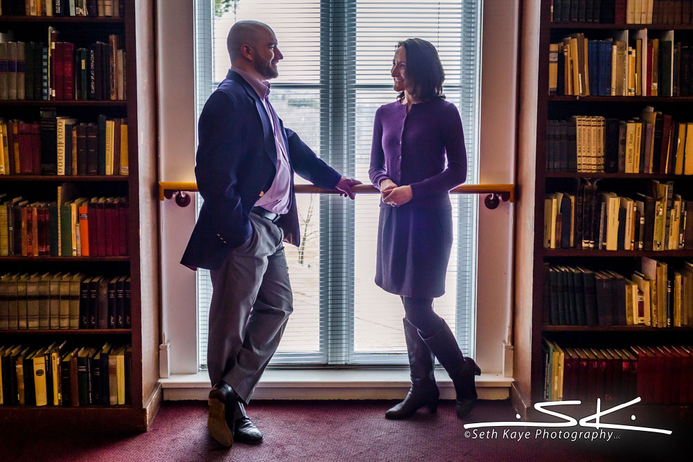 Amherst College Engagement Session