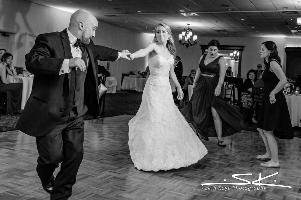 Log Cabin Ballroom Wedding