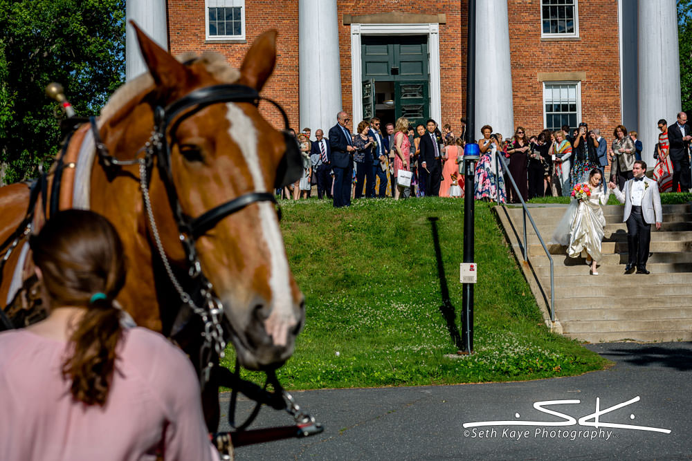 Amherst College Wedding