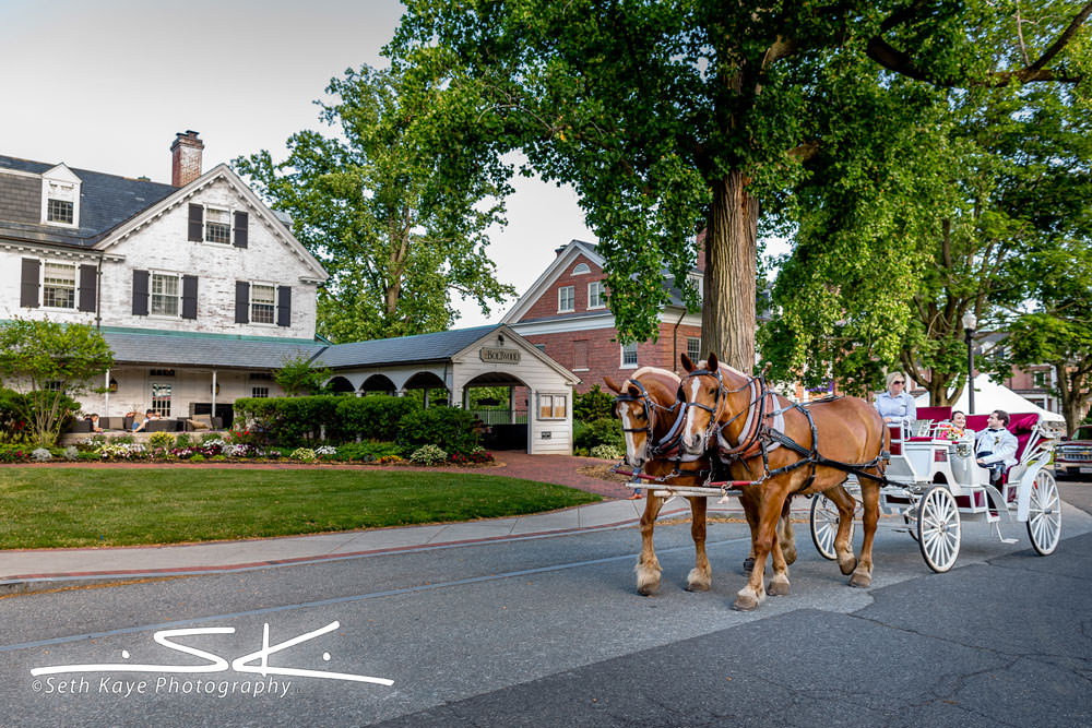 Inn on Boltwood horse drawn carriage