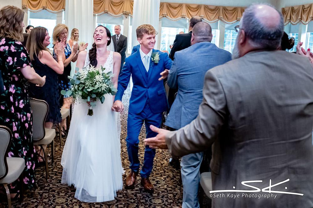 Log Cabin Wedding Ceremony