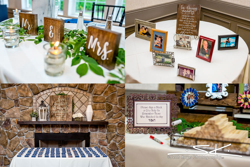 Log Cabin Wedding Details