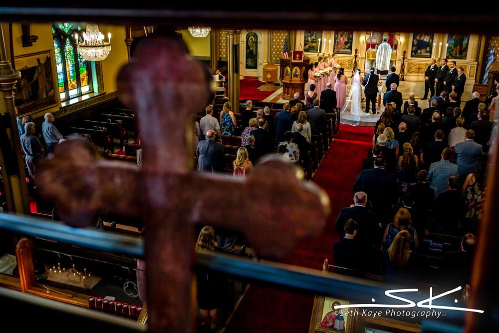 Greek Church Wedding