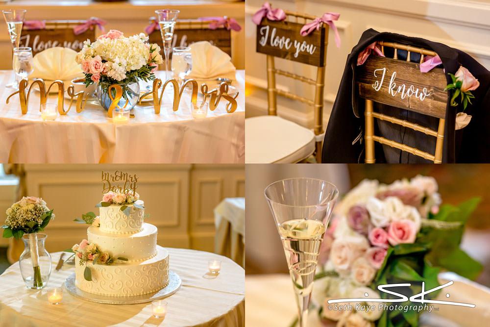 Hotel Northampton Wedding Details