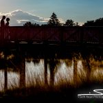 Starting Gate sunset wedding