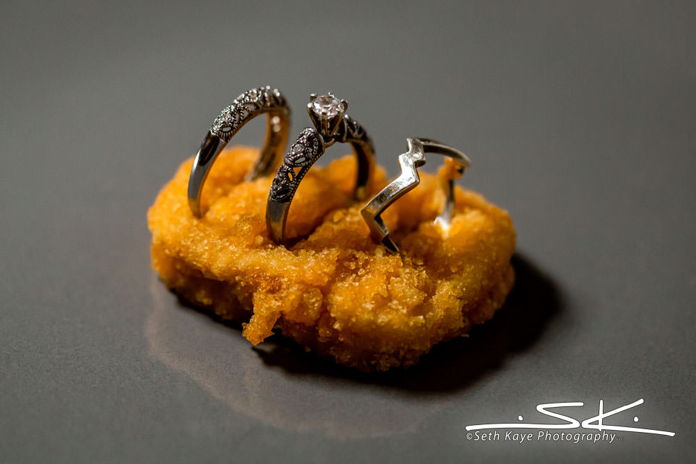 chicken nugget wedding wings