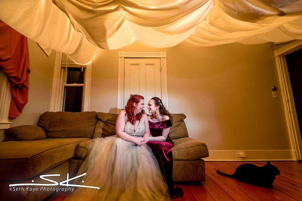 LBGTQ Wedding Portrait
