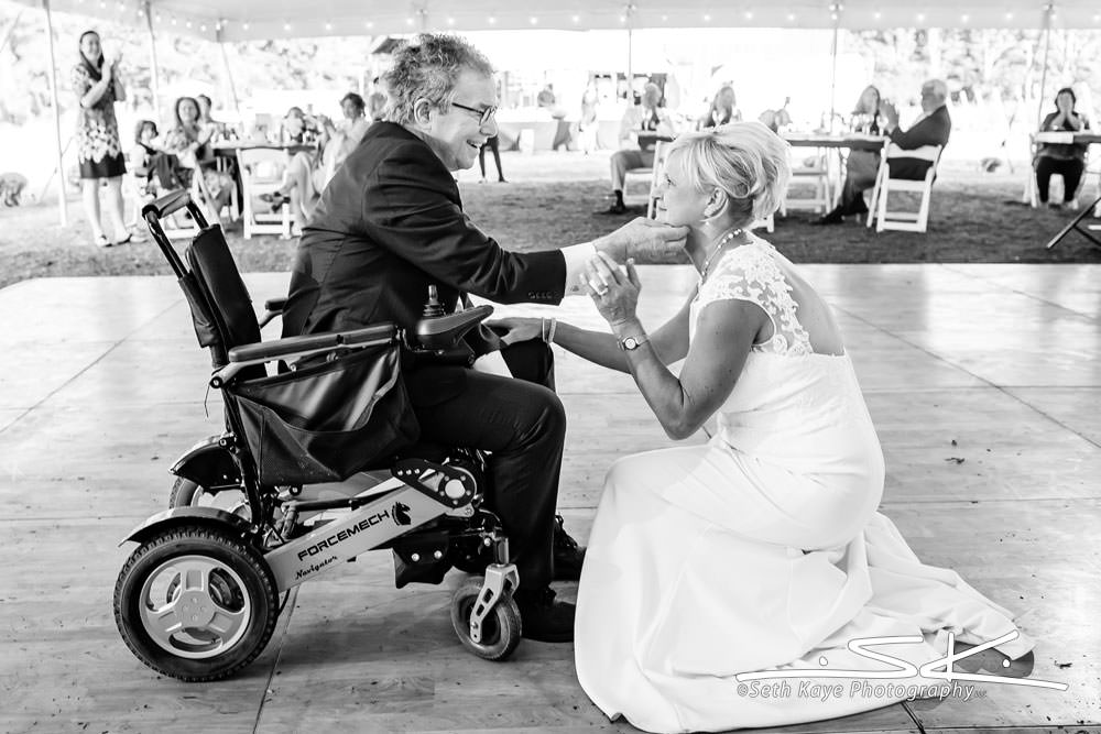 first dance with wheelchair