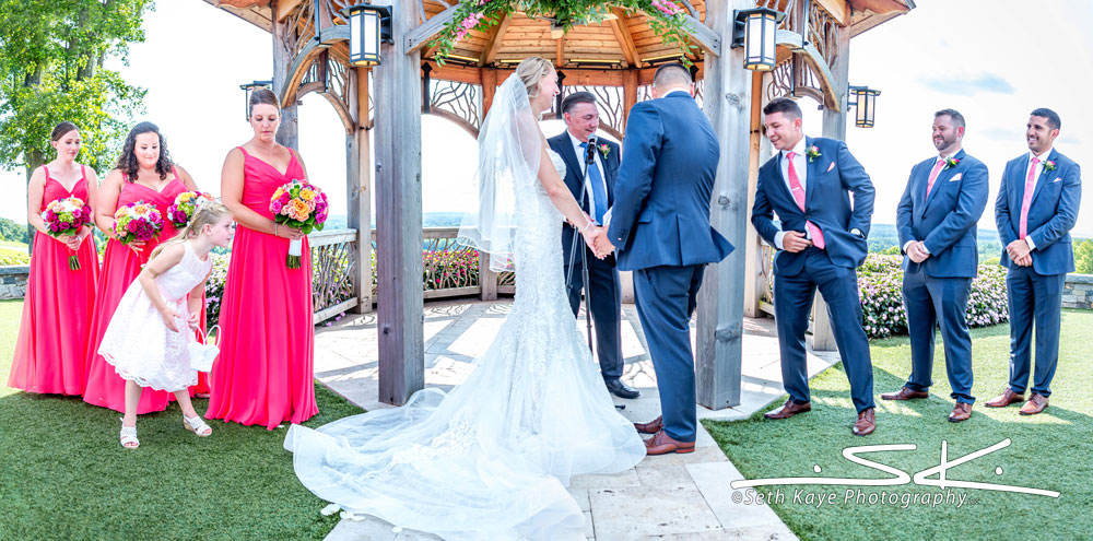 Starting Gate wedding ceremony