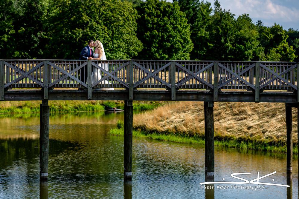 Starting Gate Wedding Portrait