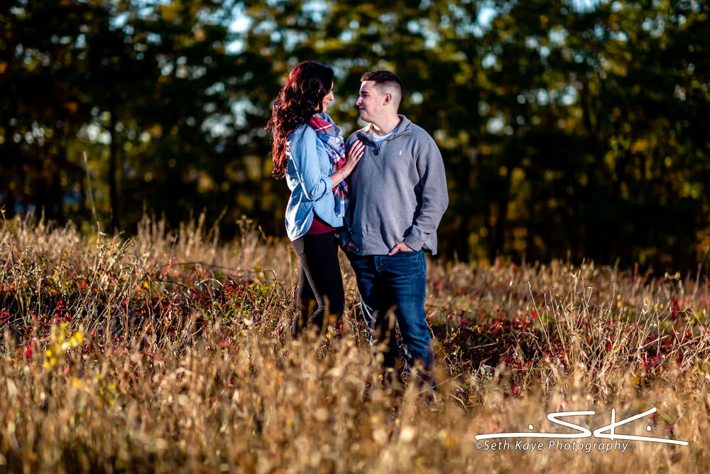 Quabbin Reservoir Engagement Session