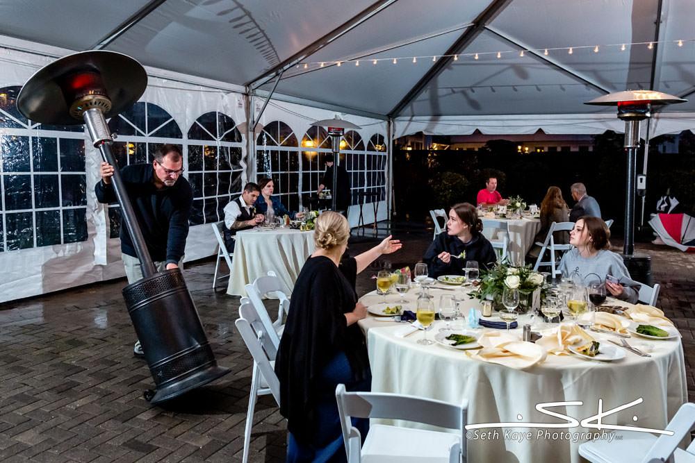 Inn on Boltwood Wedding Reception