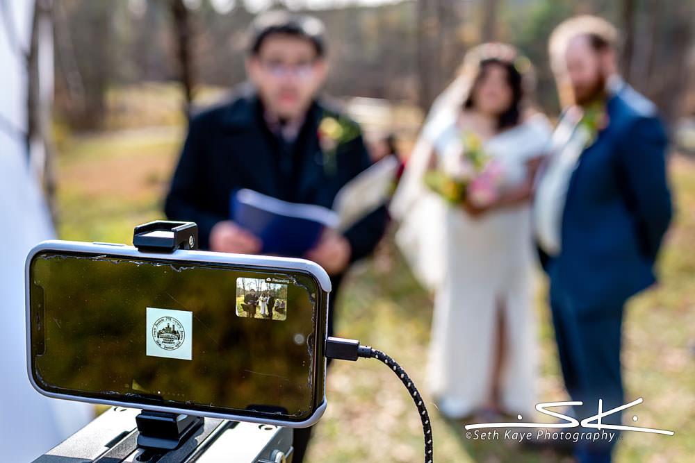 Pandemic Zoom Wedding