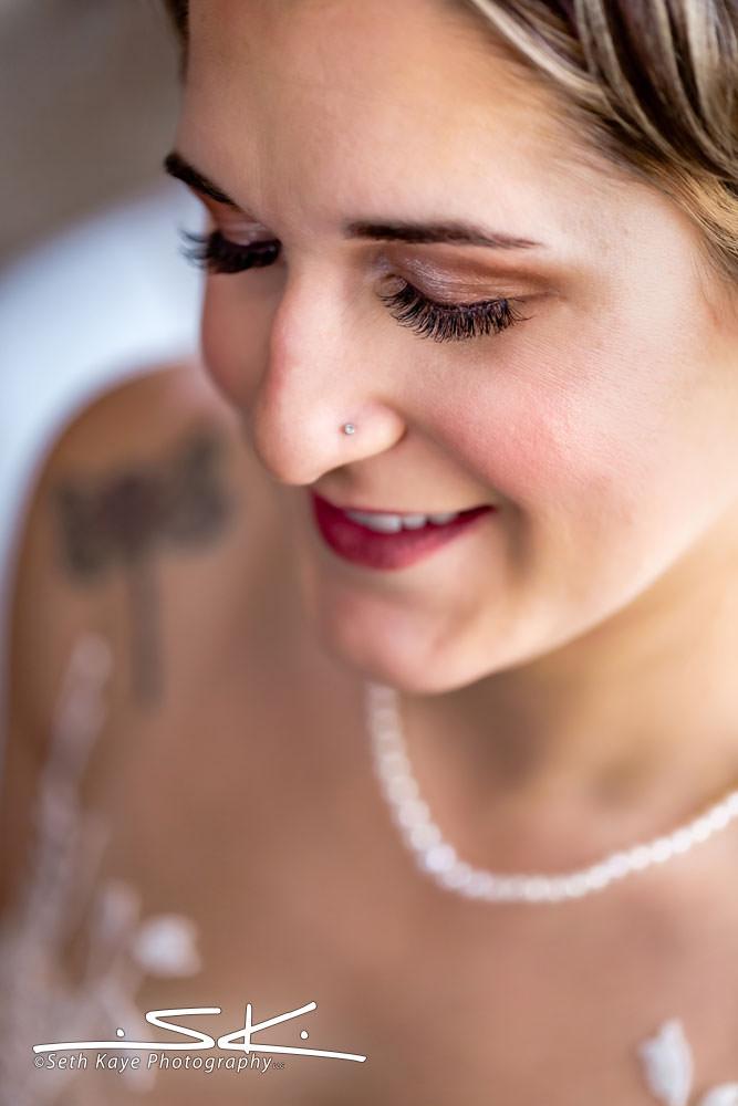 Zorvino Vineyards bridal portrait