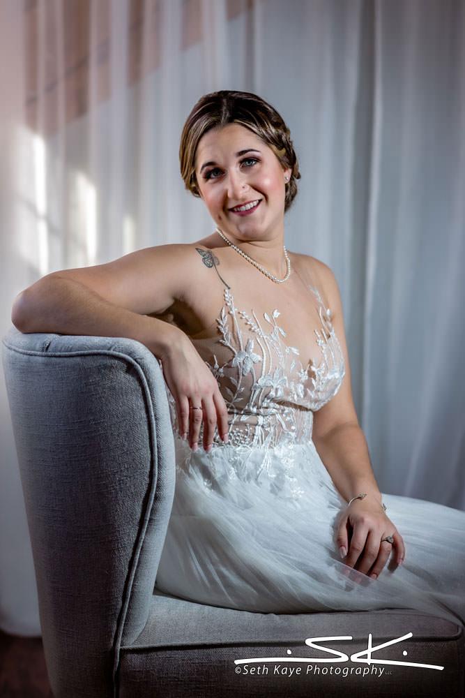 Zorvino Vineyards bride portrait