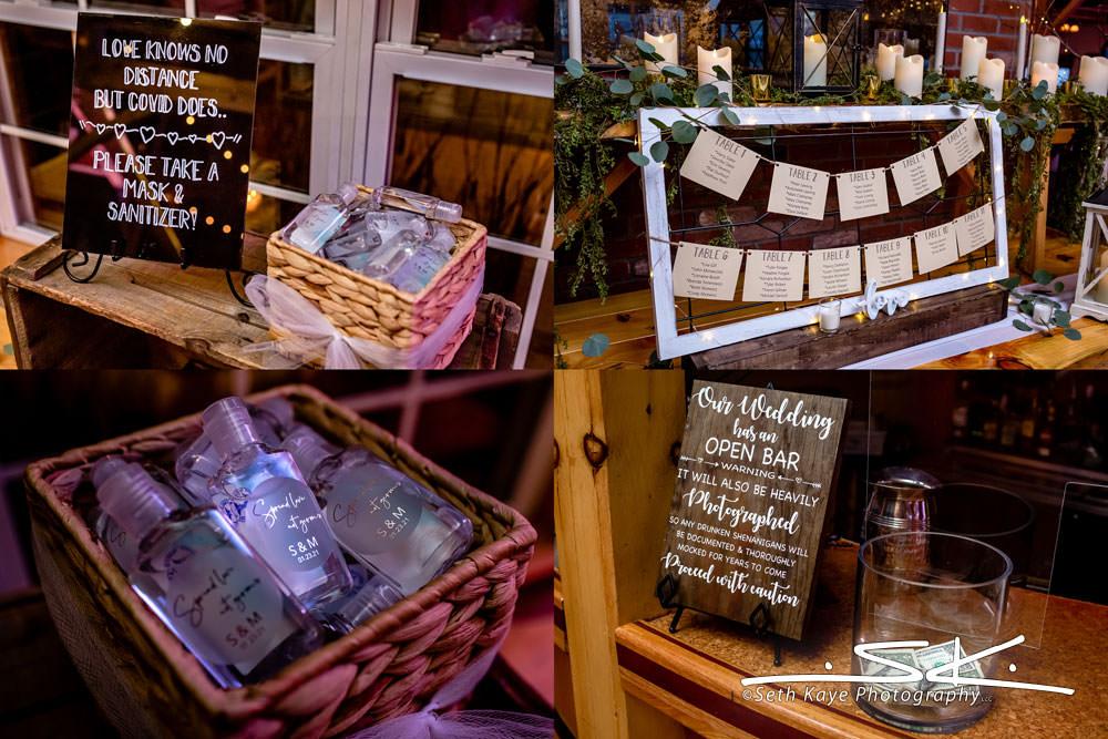 Zorvino Vineyards Wedding Details