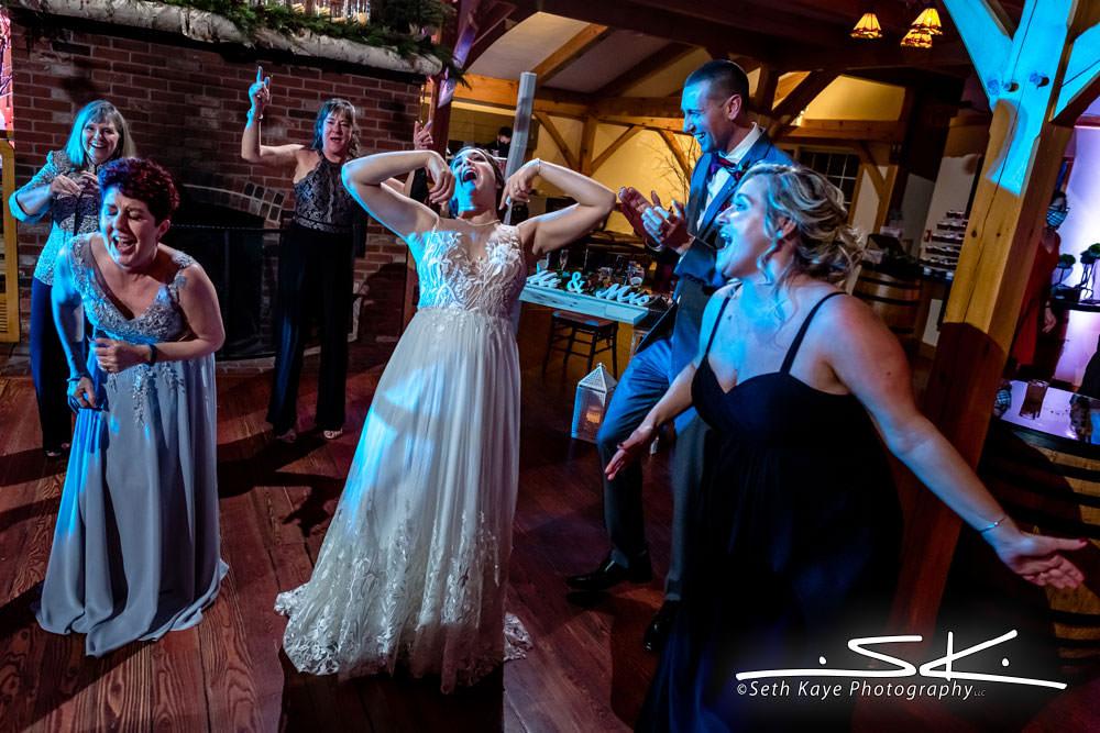 Zorvino Vineyards Wedding Reception