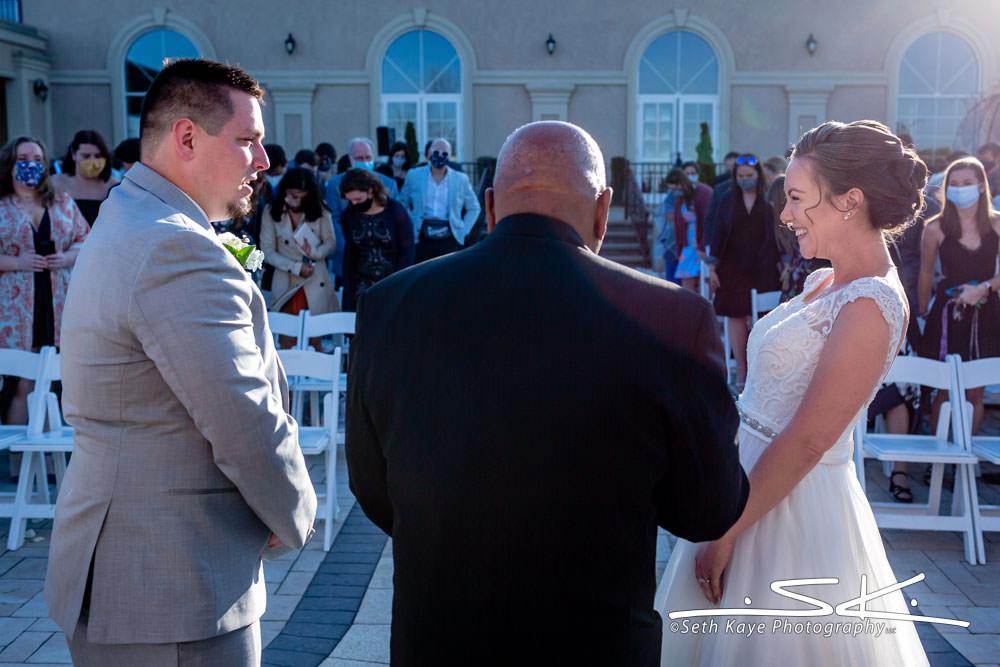 Aria wedding ceremony