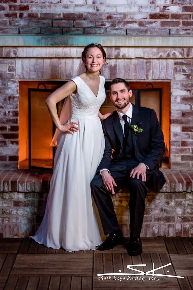 Inn on Boltwood wedding portrait