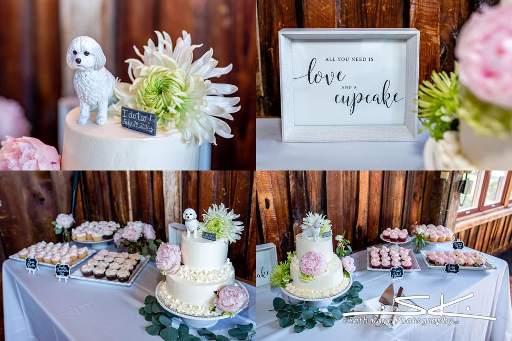 wedding dake details